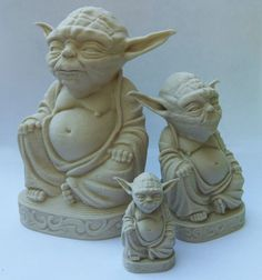Star Wars - Zen Yoda (Tatooine Sand) - Yoda is my Yogi!