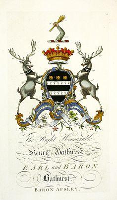 Segar Heraldic Crests Baronagium Geneaologicum 1764