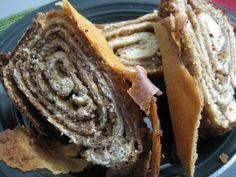 Recipe for Potica. Potica is a traditional Slovenian pastry made with flaky dough and a sweet nut filling.