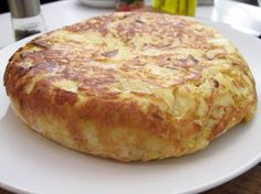 Spanish Tortilla. This is a traditional dish my Spanish grandmother would make occasionally while I was growing up. Super great hot or cold, and really good for breakfast.