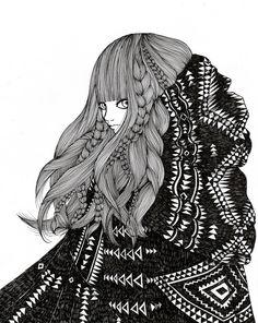 Ani-castillo-illustration-oldskull-5