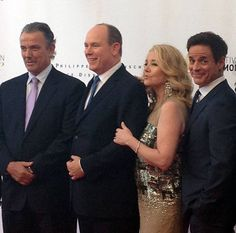 Eric Braeden, Melody Scott, Christian LeBlanc, Prince Albert - The Young & The Restless, 2013