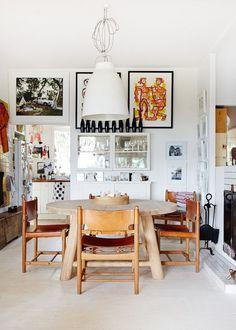 Une salle à manger au look éclectique