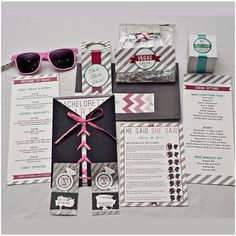 Bachelorette Party Kit by bashbashbash on Etsy, $100.00