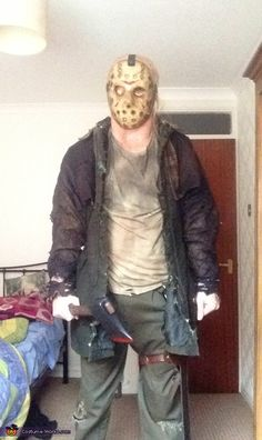 Easy childs diy jason voorhees costume coolest homemade costumes image result for jason voorhees diy costume solutioingenieria Gallery