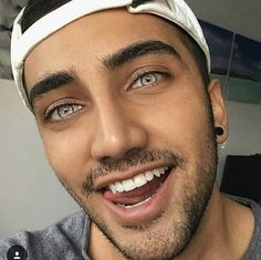 Guys with colored eyes