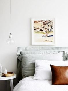 Ensure your sleeping space is a serene getaway by using one of these colour combinations.