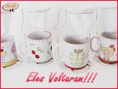 Anaeli Acessórios: Os Mini Coadores de Café estão de volta !!!!