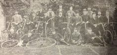 Cambridge cyclists (late 19th century)