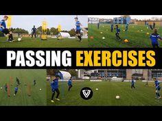 PASSING EXERCISES | BEST OF TVT 2018 | U9 - U10 - U11 - U12 - U13 - U14 - U15 | FOOTBALL SOCCER - YouTube Soccer Workouts, Soccer Drills, Soccer Coaching, Soccer Training, Soccer Tips, Football Soccer, Soccer Sports, Nike Soccer, Soccer Cleats