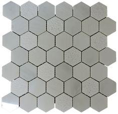 2x2 Carrara Marble Mosaic Tile