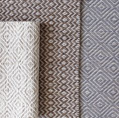 Henhurst Interiors:  Elizabeth Eakins' Hagga rugs - serene patterns in versatile neutral colors.