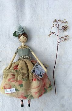 New fairy made by Sam Mckechnie of The Magpie and the Wardrobe.