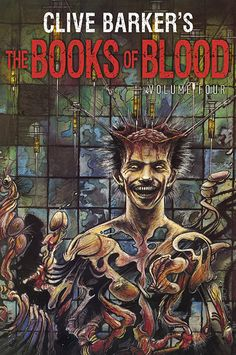 clive barker book jackets | http://subterraneanp...Volume_Four.jpg