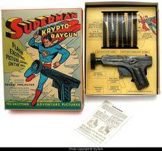 Superman Krypto Ray Gun Projector Pistol