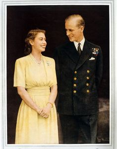 Elizabeth had first met Prince Philip of Greece and Denmark when she was eight years old. Five years later, in 1939, they encountered each other again, and it was love at second sight. The pair began exchanging letters, and in 1946, they were secretly engaged. On her wedding day, Nov. 20, 1947, the 21-year-old princess couldn't find her bouquet, and her tiara snapped.