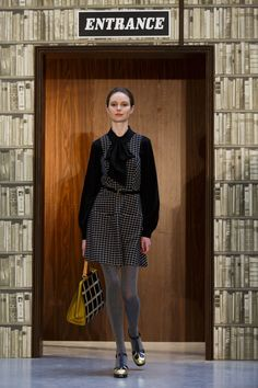 Pin for Later: Die 12 größten Mode-Trends in diesem Herbst  Orla Kiely Herbst/Winter 2015