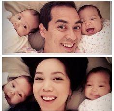 Travis Family is the cutest ! itsjudytime + benjimanfood + Keira + Miya (Julianna's missing) #itsjudyslife