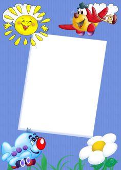Cute Kids Transparent Frame