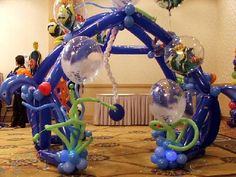 Balloon Decor/Design for Kids Party in Miami, Aventura, Fort Lauderdale, West Palm Beach