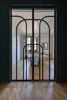 Interior Architecture, Interior And Exterior, Door Design, House Design, Door Entryway, Door Detail, Modelos 3d, Steel Doors, Interior Design Inspiration