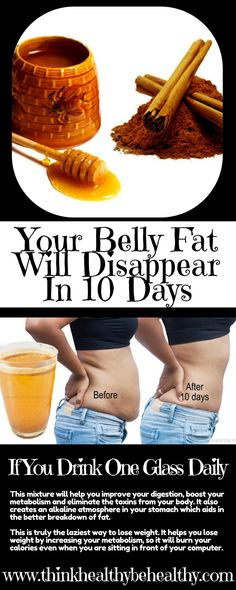 Your Belly Fat Will Disappear In 10 Days If You Drink One Glass Daily