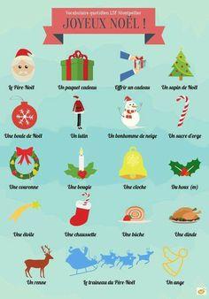 French Christmas vocab sheet