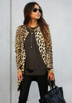 love this leopard jacket