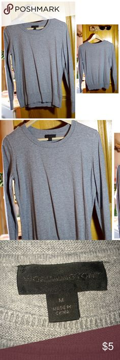 Worthington grey sweater size M. Worthington grey sweater size M. This is perfect to a classy formal look for fall. USED GOOD CONDITION  NO TRADES   Worthington Sweaters Crew & Scoop Necks