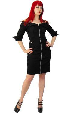 Necessary Evil // Necessary Evil Nyx Military Dress