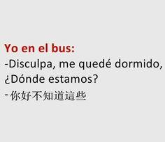 Caretrasero - Yo en el bus