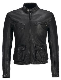 Belstaff Rockingham Vintage Blouson Men's Leather Jacket, Leather Men, Leather Jackets, Motorbike Jackets, Belstaff, How To Wear, Vintage, Women, Style