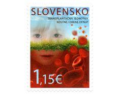 COLLECTORZPEDIA: Slovakia Stamps The Bone Marrow Transplant Unit of the UCHC