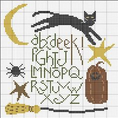 EEK! Halloween Cross stitch