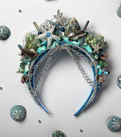 DIY Mermaid Crowns