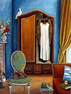 Gabriela's Atelier New painting, painting by artist Catherine Nolin