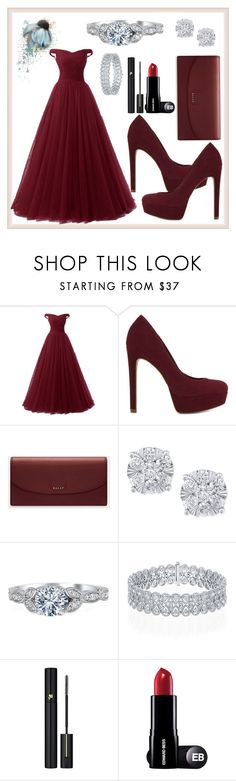 """""""Women Style"""" by bahiraf ❤ liked on Polyvore featuring ALDO, Bally, Effy Jewelry and Lancôme"""