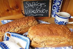 Saftiges Vollkornbrot