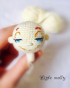 inspiration - Hi ❤️ Everybody meet Laila, a fantastic doll in progress, i am trying to add a new facial expressions to her can you guess the colour of her hair ?❤️