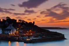 ~Harbour Lights~ The old harbour in Crail, Scotland