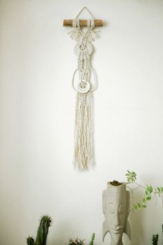 Wall tapestry,Small Macrame Wall Hanging, Modern Macrame, Wall Art, Boho Wall Hanging, Macrame Tapestry, boho art, boho decor, wall decor ^^^^^^^^  This special macrame wall hanging will give your home bohochic. this modern macrame gives your room warm feeling, you can hang it in your badroom,living room or any other room.  ^^^^^^^^^  Macrame width-15 cm (6 inches ) Macrame length- 60cm (23.5 inches)