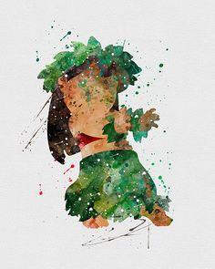 Lilo and stitch tattoo, lilo stitch, lelo and stitch, disney watercolour, Art Prints, Watercolor Art, Cute Disney, Disney Drawings, Drawings, Lilo And Stitch, Disney Wallpaper, Disney Paintings, Watercolor Disney