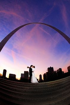St. Louis Wedding Photographer - St. Louis Arch - Amy Werner Photography