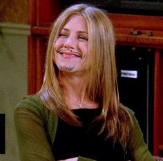 Rachel Green, Jennifer Aniston seen that eps not too long ago made me laugh