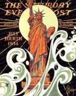 Statue of Liberty J.C. Leyendecker July 7, 1934
