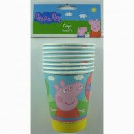8 x Peppa Pig Cups Birthday Party Supplies Pepper Birthday Cup, It's Your Birthday, Birthday Parties, Peppa Pig Party Supplies, Wholesale Party Supplies, Printed Balloons, Party Cups, Party Shop, Party Time