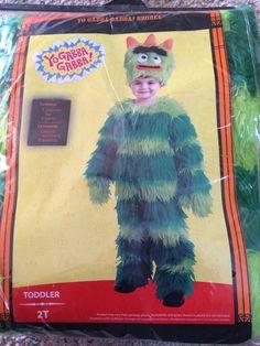 Yo Gabba Gabba Halloween Costume 2T New