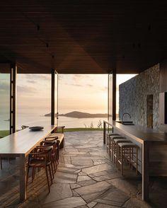 Home Room Design, Home Interior Design, Interior And Exterior, Architecture Design, Amazing Architecture, Surf House, Waiheke Island, H Design, Landscape Walls