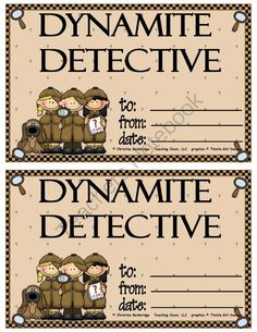 Detective Classroom Theme from Mrs. Bainbridge's Shop on TeachersNotebook.com (29 pages)