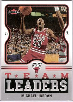 2006-07 Fleer Team Leaders #MJ Michael Jordan Books $8.00